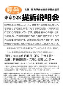 福島原発被害東京訴訟提訴説明会(5次)160605 [1044147]